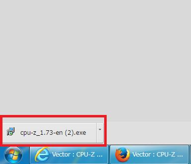 CPU-Z クローム