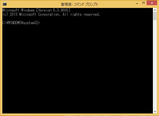 Windows8/8/1 chkdsk(チェックディスク)のコマンドプロンプトの意味の説明
