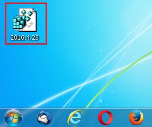 保存したファイルがデスクトップにあるか確認