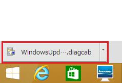 クロームのブラウザの場合ダウンロードされたファイルが左下のスタートメニューの上に出るので左クリック