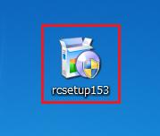 デスクトップに保存されたRecuva153をダブルクリック