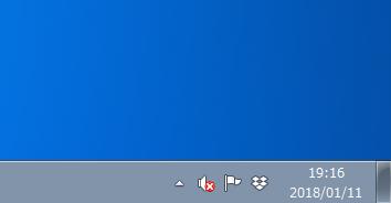 Windows7 言語バーが非表示になっている場合
