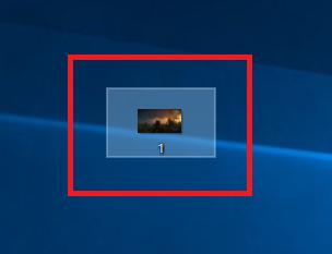 データを左クリックし、背景が白く反転された事を確認します。