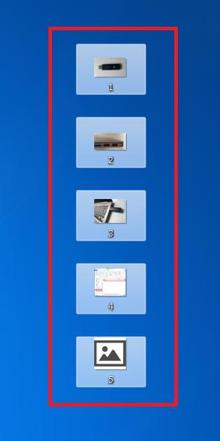 選択すると背景が白くなるので選択できていること確認し、後は先述した通りにコピーしてUSBメモリに保存します。