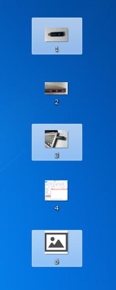 個別に1つ1つ選択することが出来ました。後はコピーしてUSBメモリに保存するだけです。