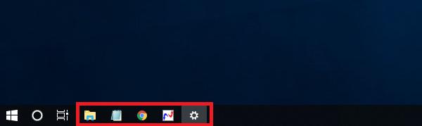 Windows10 アイコンが小さくなる