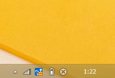 Windows8/8.1 タスクバーの幅が狭くなっている場合の時計
