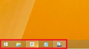 Windows8/8.1 アイコンが小さくなる 変更後
