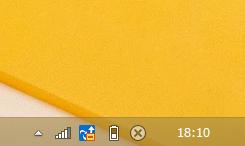 Windows8/8.1 日付が表示されていない状態