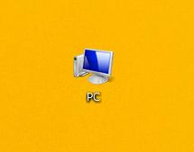 ①コンピューター(PC)のアイコン