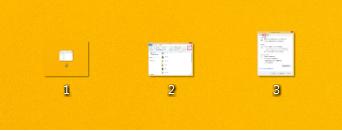 Windows8/8.1 拡張子が非表示の状態