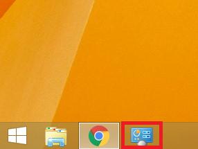 「Windows8/8.1 コントロールパネルをタスクバーに追加する」